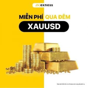 Miễn phí Swap Vàng trên Exness