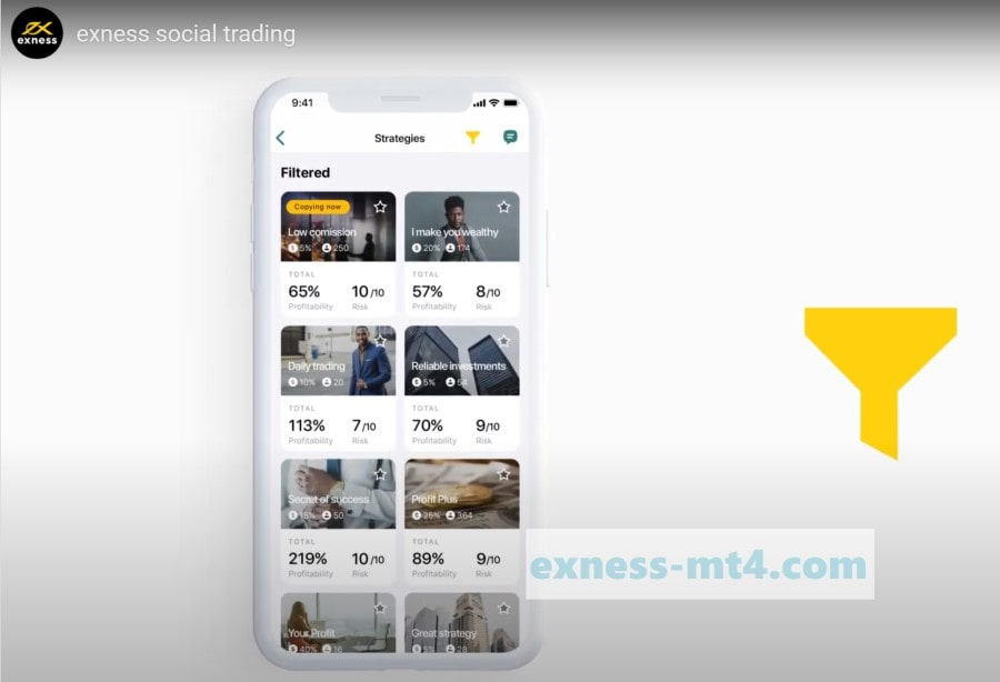 What is Exness Social Trading